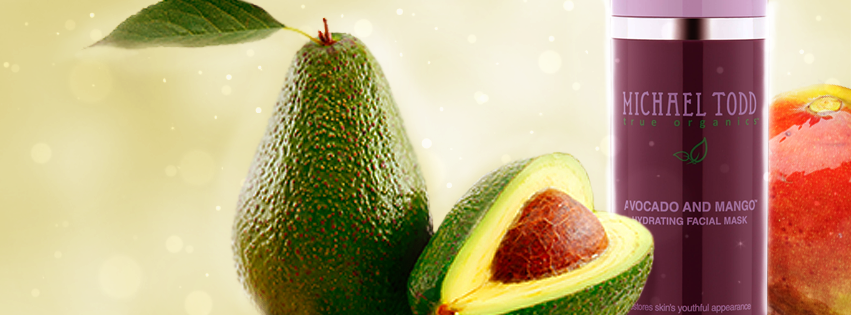 Avocado and Mango Hydrating Facial Mask: Restores skin's youthful appearance normal to dry mature and sensitive skin.-- #MTTO