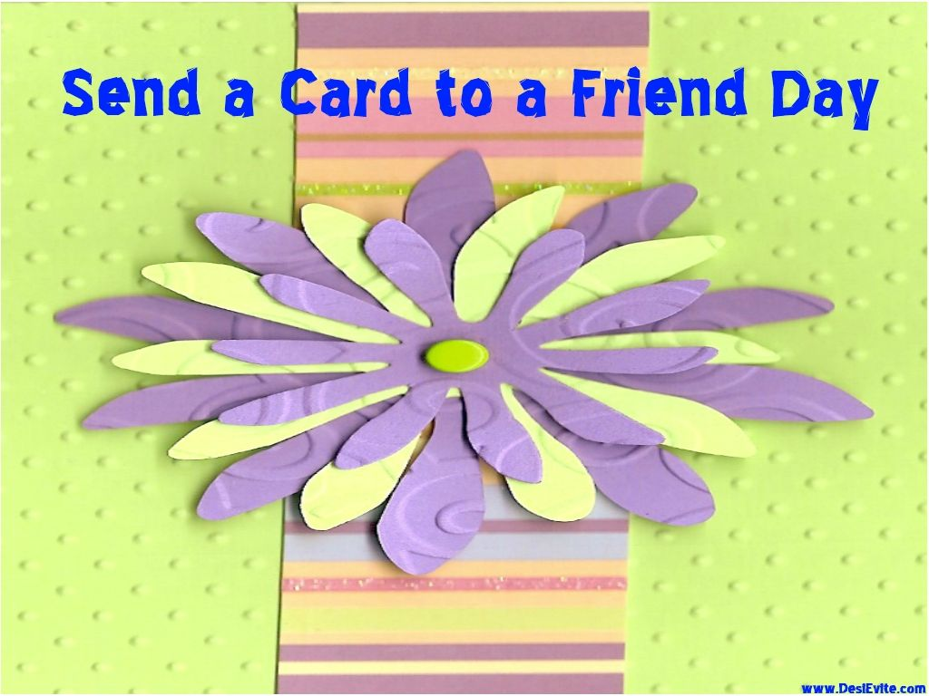 Feb7 send a card to a friend day share this ecard with your send a to a day share this with your and make stronger kristyandbryce Choice Image