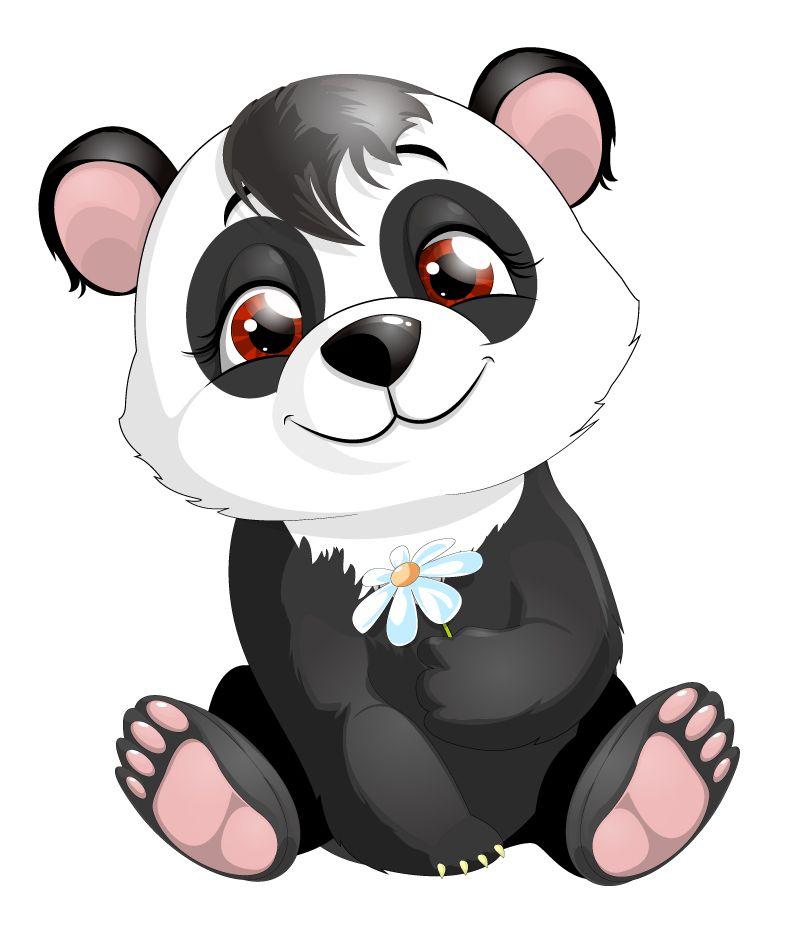 Cartoon Panda Vector Free Vector Graphic Download Cartoon Animals Cartoon Zoo Animals Cartoon Pics