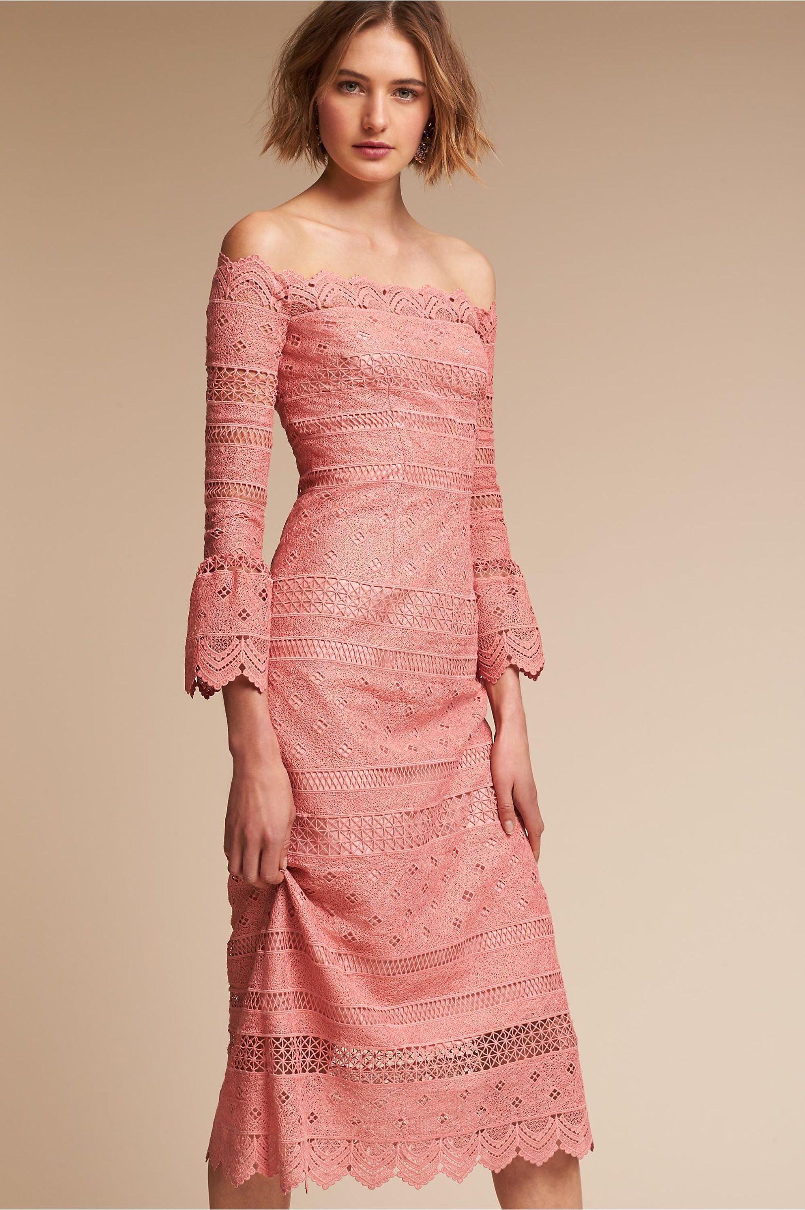 BHLDN\'s Amur Abriana Dress in Rose Pink