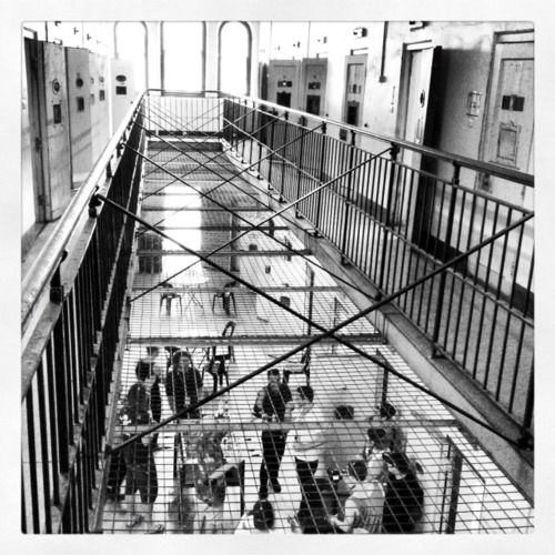Backstage Area At Adelaide Soundwave Is An Old Prison