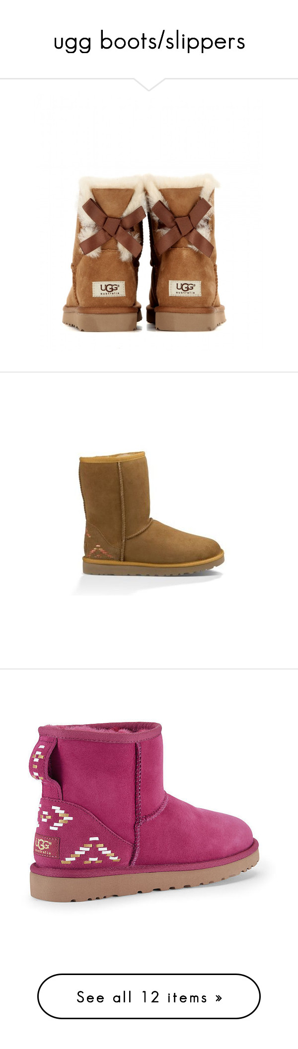 5bea9fc3d41 ugg boots/slippers