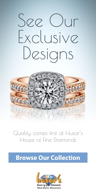 1c5044f784d72 Husar's House of Fine Diamonds in West Bend, WI. #diamondring ...