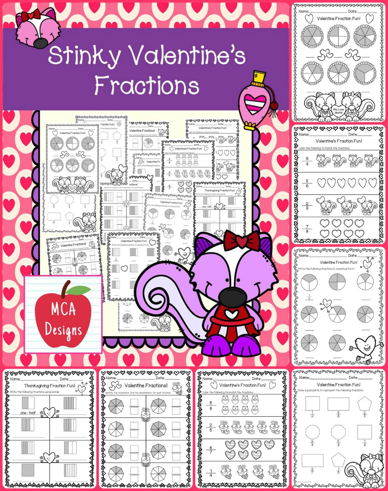 Valentine S Day Fractions
