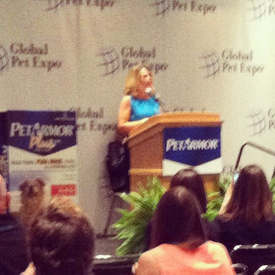 Doc Halligan at Sergeant's press conference #globalpetexpo