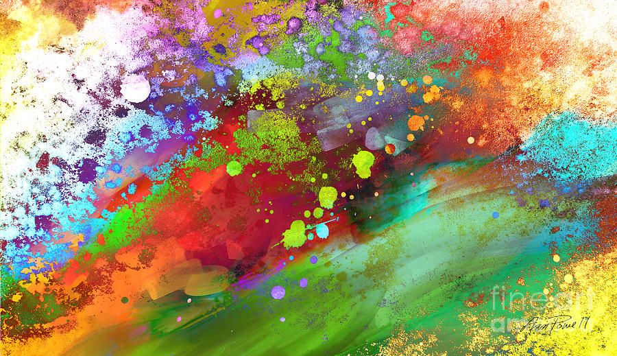 Color Explosion Abstract Art Abstract Colorful Abstract