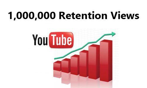 Buy 1,000,000 Retention Youtube Views