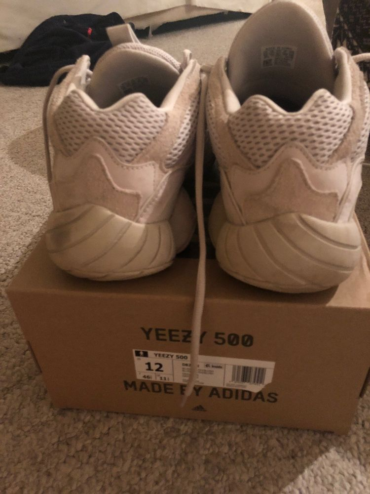 32708a4f946 adidas yeezy 500 blush size 12 USED with Original Boxing.  fashion   clothing  shoes  accessories  mensshoes  athleticshoes (ebay link)