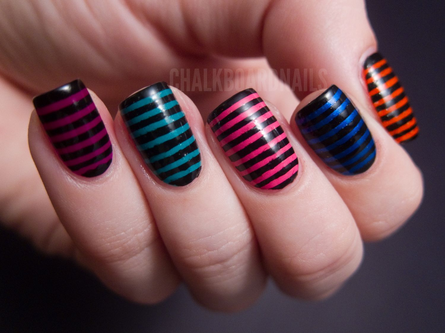 Chalkboard Nails · Stripe Nail ArtStriped ... - Chalkboard Nails Nails Art ! Pinterest Urban Decay, Urban And