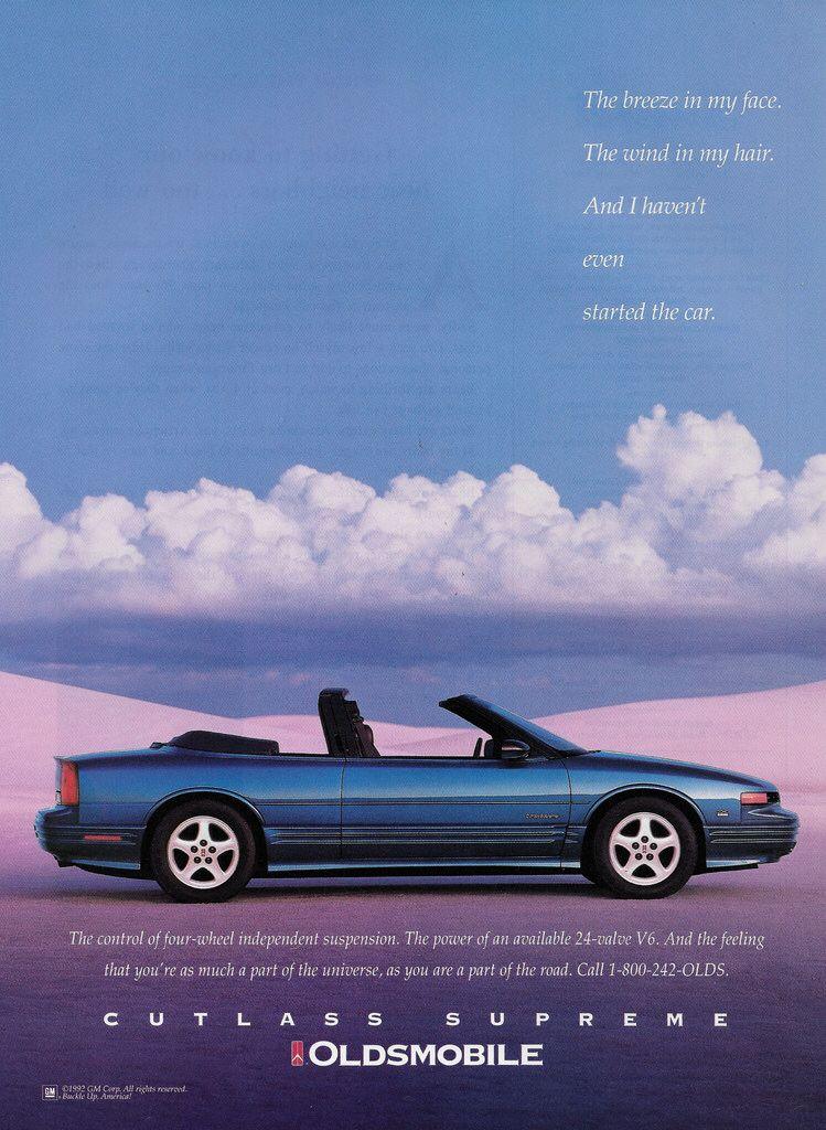 1993 Oldsmobile Cutlass Supreme Convertible Usa Oldsmobile Cutlass Oldsmobile Oldsmobile Cutlass Supreme