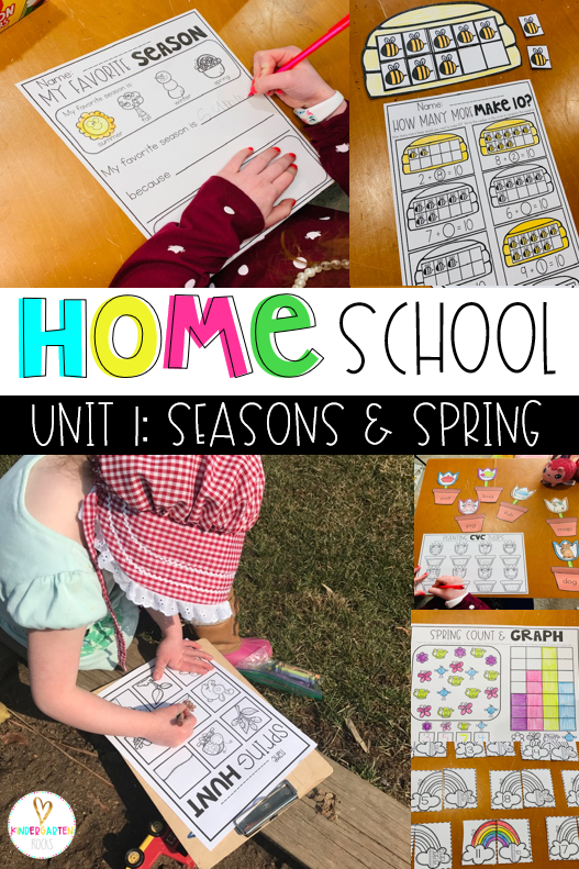Photo of Home School Ideas for Spring Kindergarten – Kindergarten Rocks Resources