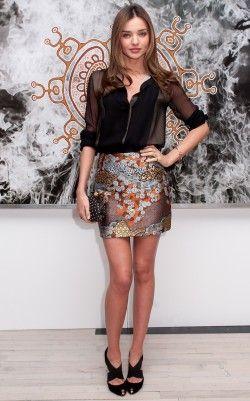 Miranda Kerr..love the outfit