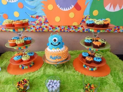 Little Monster First Birthday Party Ideas and Inspiration | Little ...