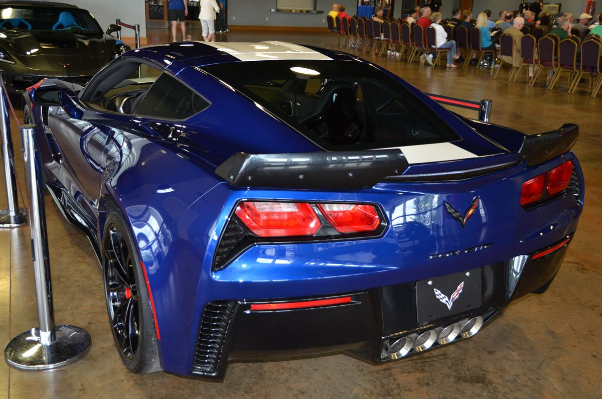 2017 corvette grand sport heritage package in arctic white corvette - 2017 Corvette Grand Sport Z15 Heritage Package Admiral Blue Corvette Gallery