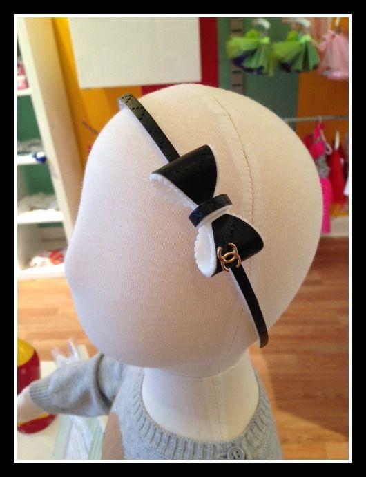"""Chanel"" Inspired Headband-Chanel Inspired Headband"