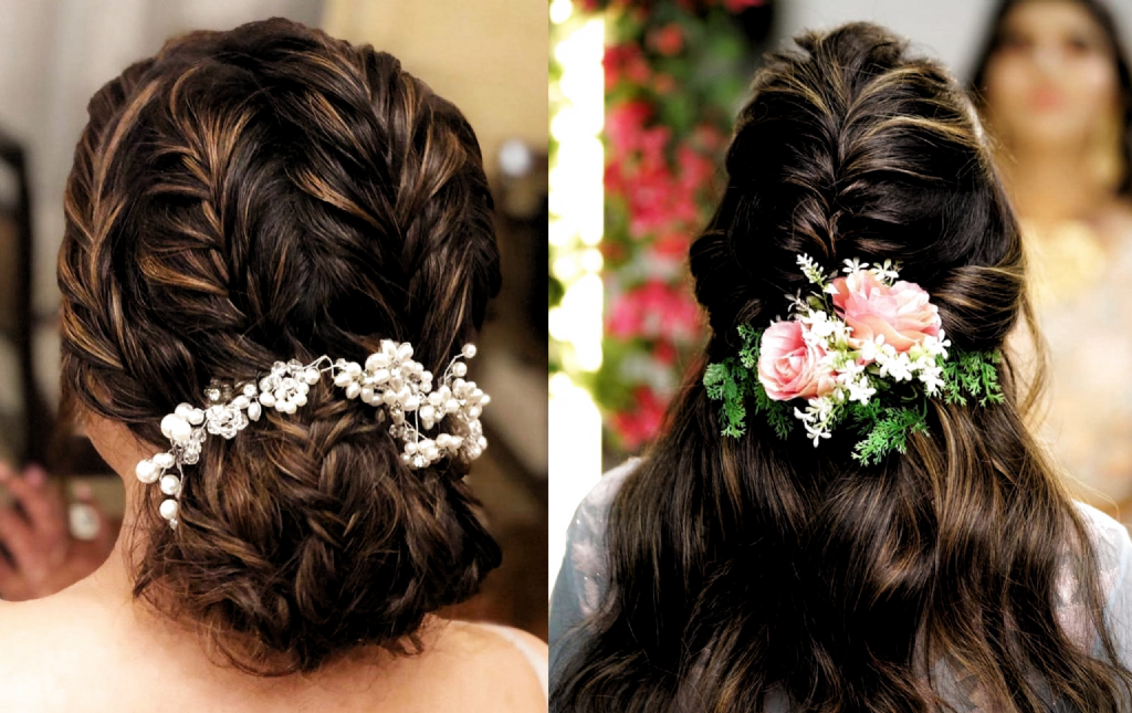 Hairstyle For Indian Wedding Guest [ad_1]  Hairstyle For Indian Wedding G... #guest #hair… in 2020 | Indian wedding hairstyles, Short wedding hair, Wedding guest hairstyles