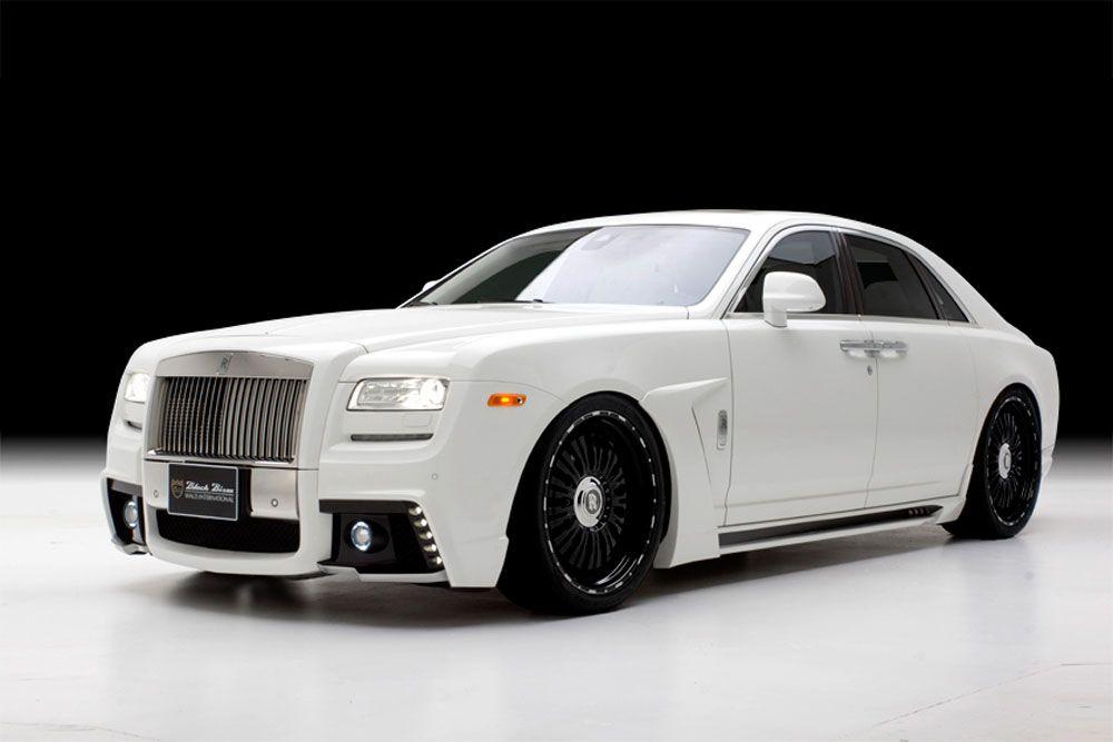 White Rolls Royce Phantom Ghost