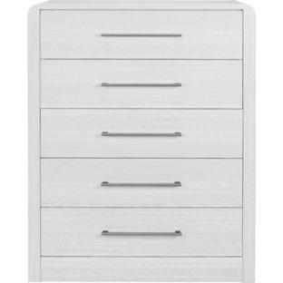 buy hygena strand assembled 5 drawer chest white at. Black Bedroom Furniture Sets. Home Design Ideas