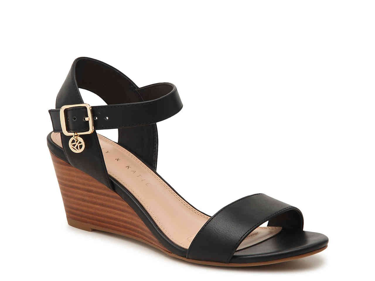 5166abed04 Kelly & Katie Elendra Wedge Sandal Women's Shoes | DSW | Shoes in ...