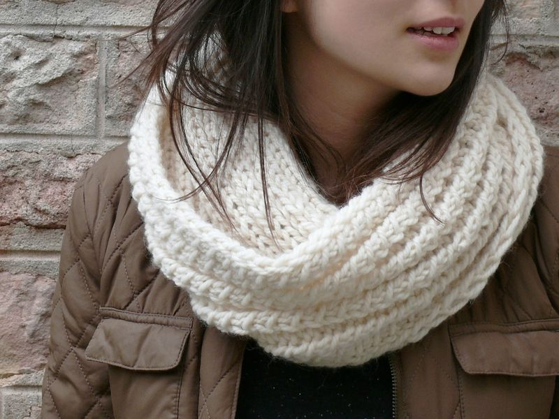 DIY: Milk, le dernier snood de l\'hiver - Bee made | Loop\'S ...