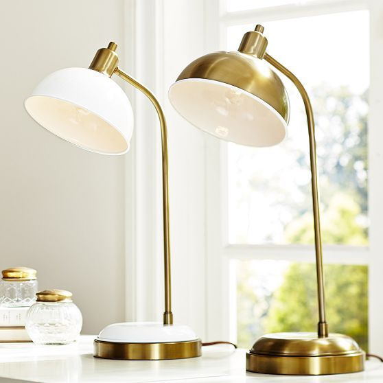 Pottery Barn Clip On Lamp: Home: Lighting + Hardware