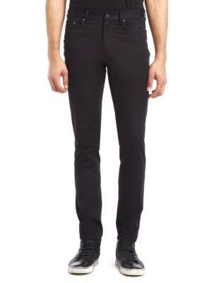 Slim Fit Sateen Pants