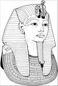 King Tut Coloring Pages Coloring Page Egypt King Tut Abcteach