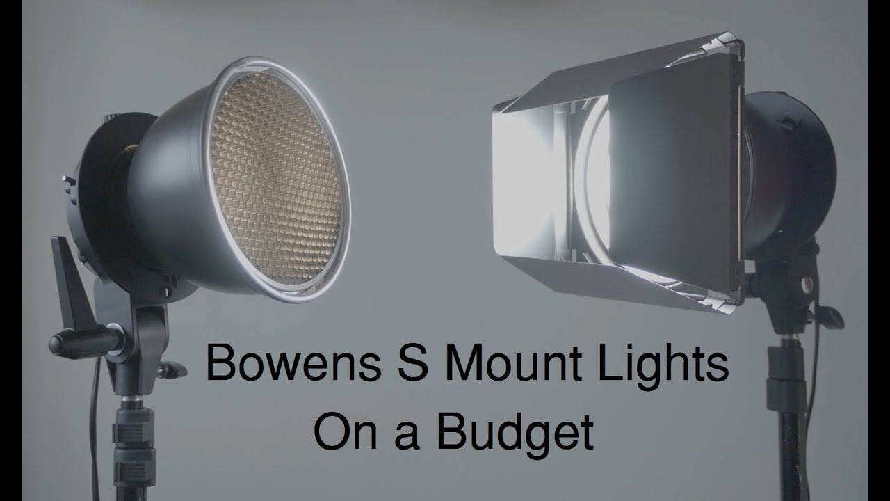 Diy Cheapest Video Lighting With Bowens Mount Accessories 97475618