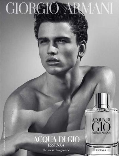 Simon Nessman for Giorgio Armani Acqua di Gio Essenza Fragrance. gorgeous man!