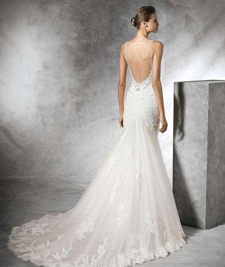 c8b1a3d3acb0 Diva Boutique - Pronovias Verona Pronovias Wedding Dress, Wedding Dress  Shopping, Bridal Dresses,