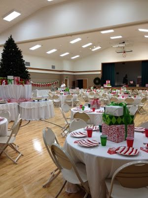 Christmas Party Table Decorations Ideas.Ward Christmas Dinner Christmas Party Centerpieces