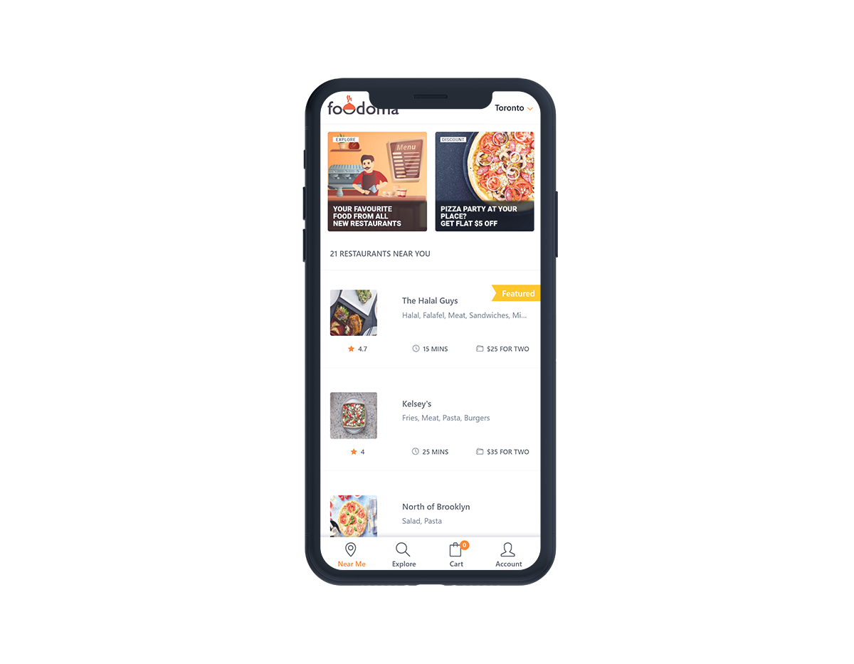 Foodomaa Multi Restaurant Food Ordering Restaurant Management And Delivery Application Restaurant Recipes Order Food Restaurant