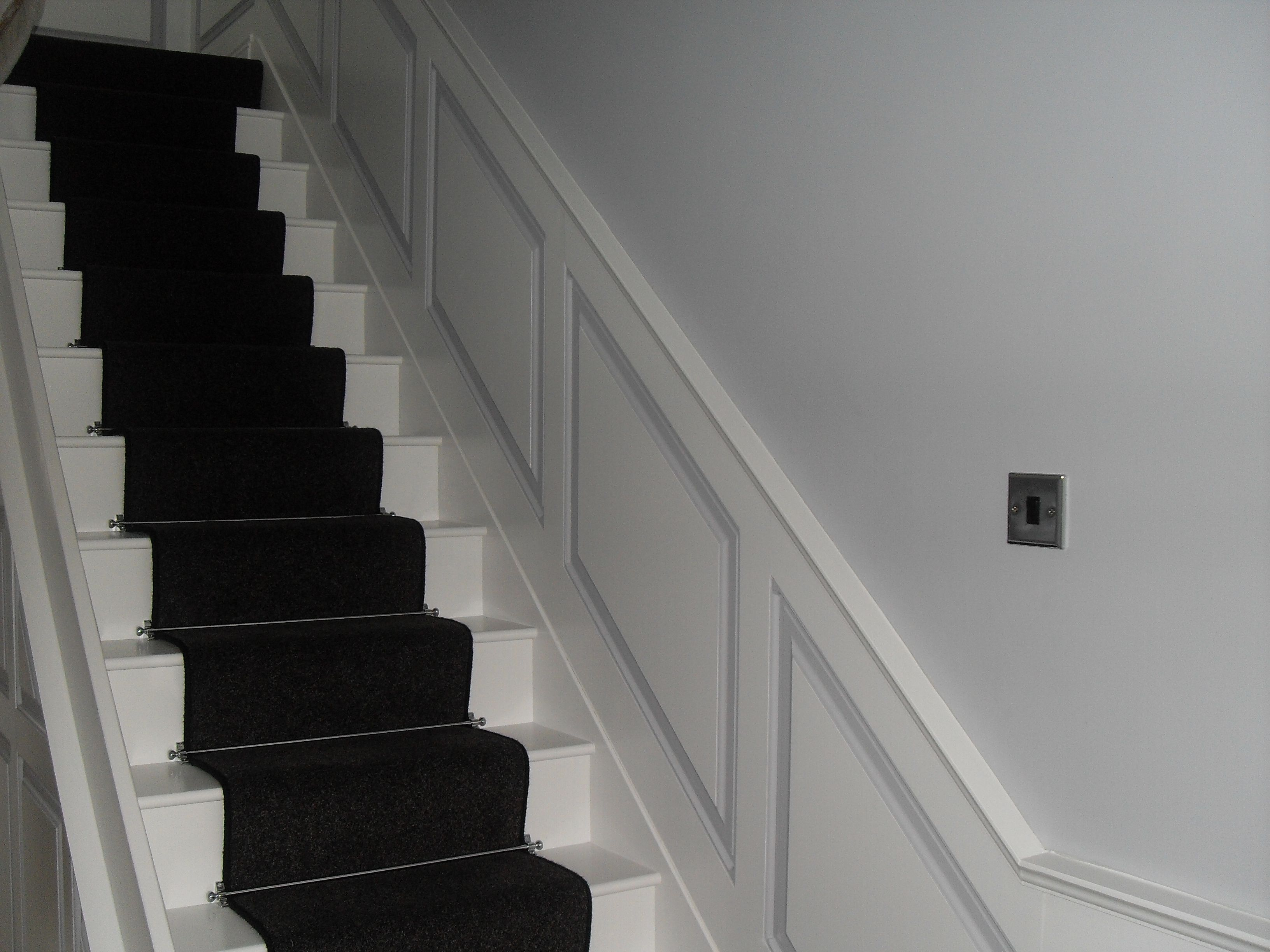 Entrance Hall And Stair Ideas Mdf Wall Panelling By Wall Panels Uk