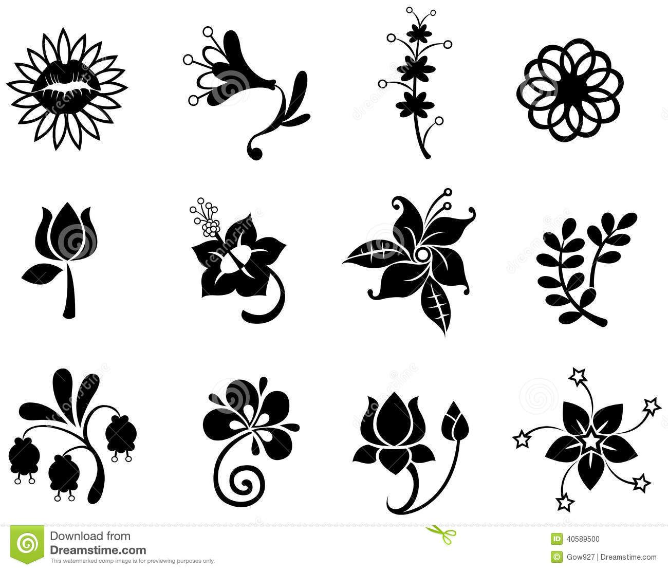 daffodil stylized Google Search Flower icons