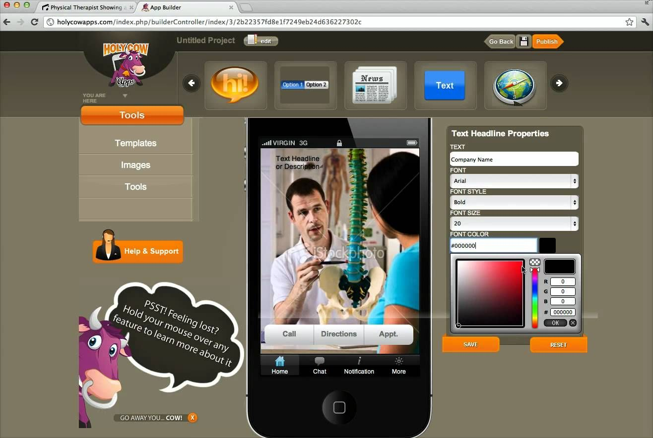 Android application software