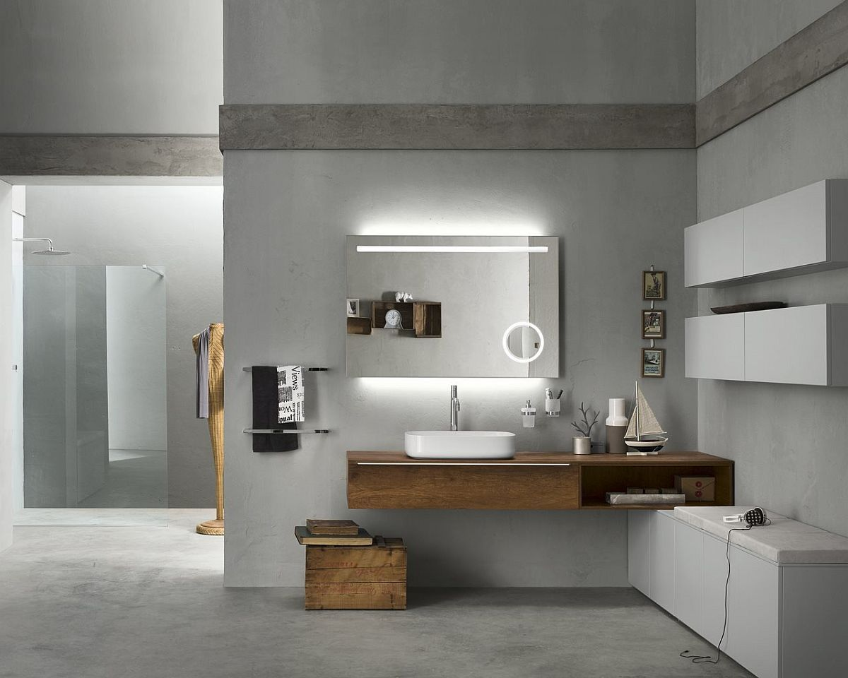 Badkamer Accessoires Inda : Progetto: modular system alters your approach to bathroom design