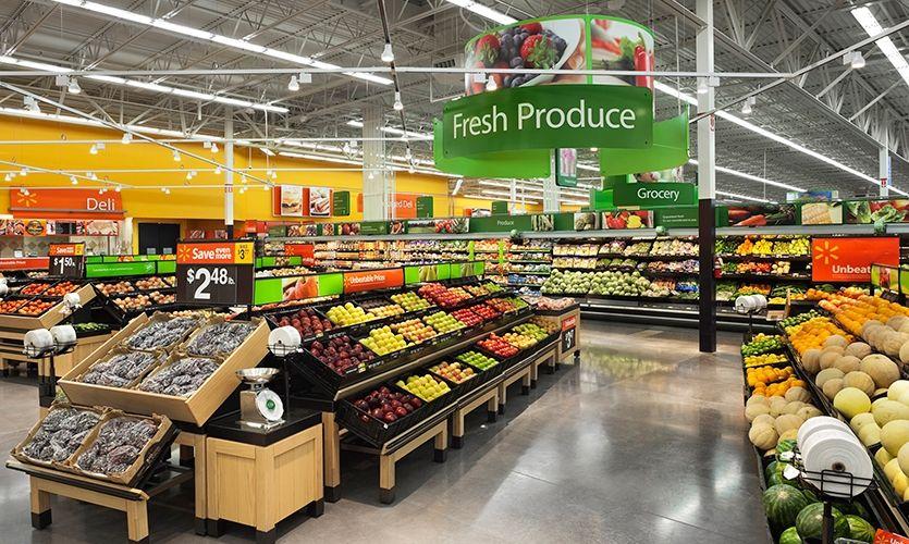 walmart Walmart, Fresh produce, Fruit displays
