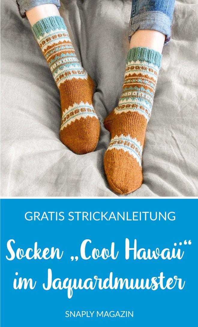 Photo of Socken mit Jaquard-Muster stricken – Kostenlose Anleitung | Snaply-Magazin