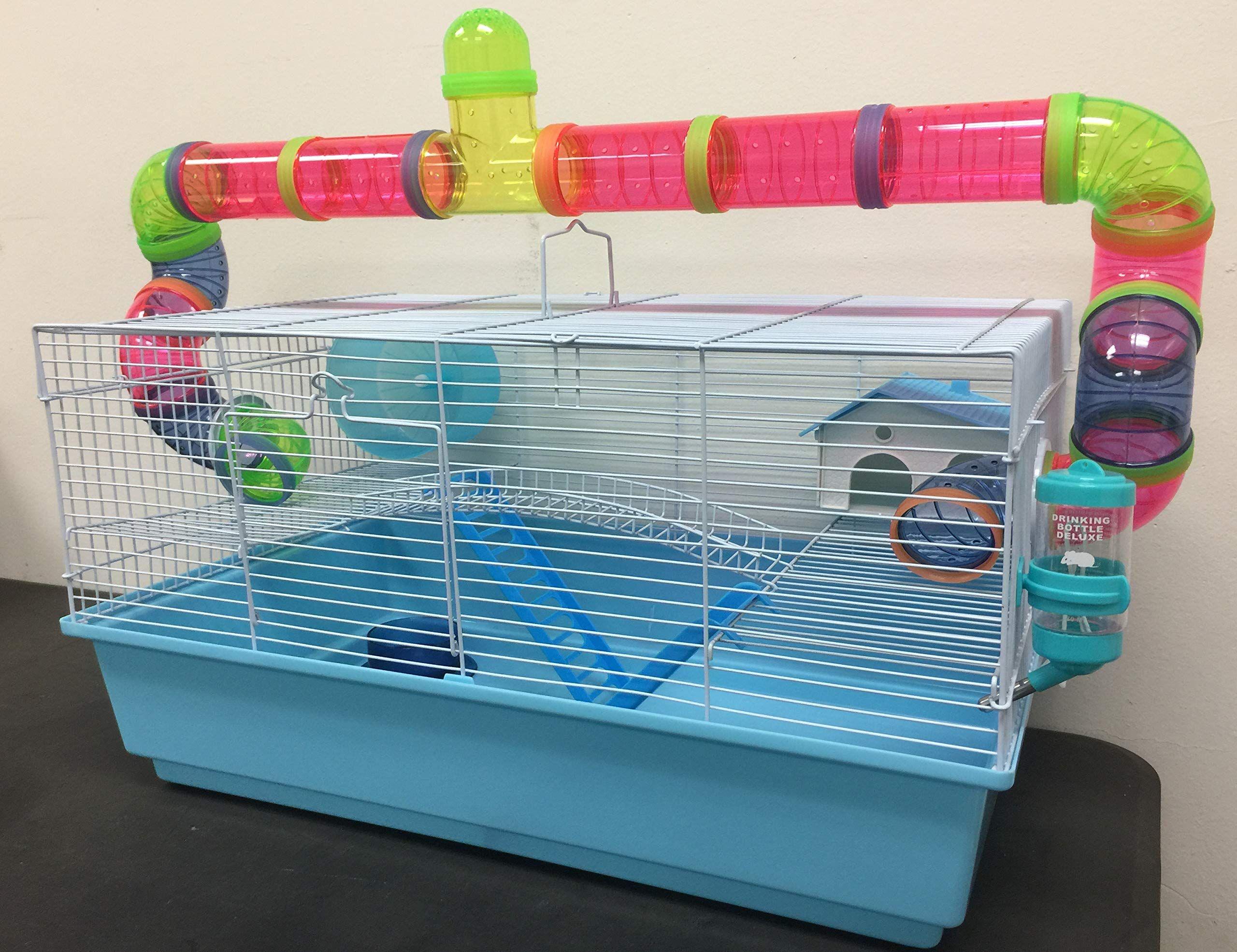 New Large Long Crossing Tube Habitat Hamster Rodent Gerbil Mouse