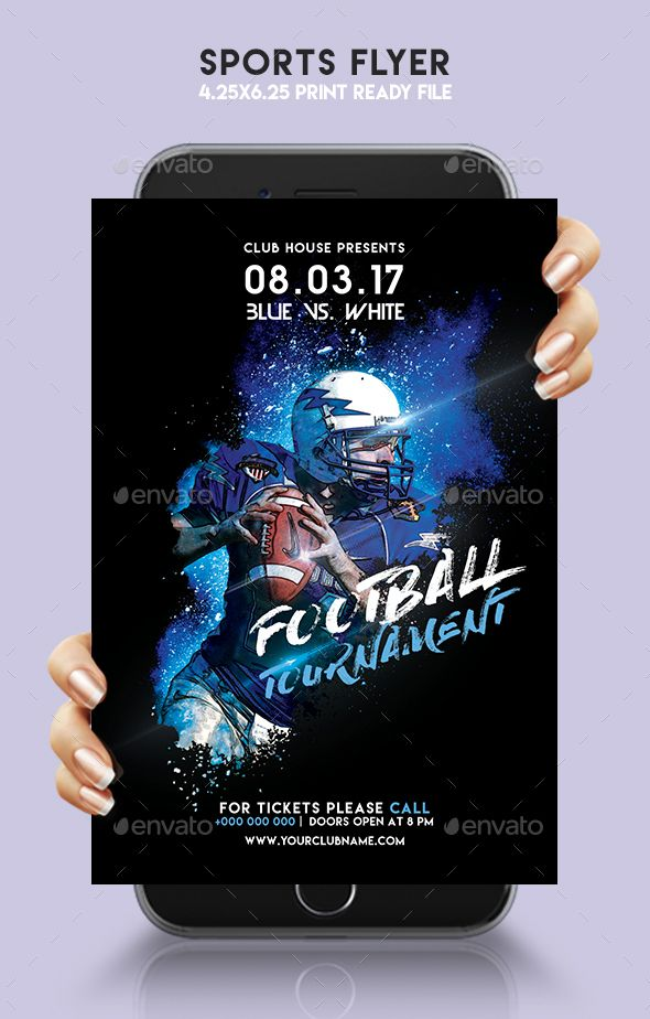 Sports Flyer Flyer template, Template and Event flyers