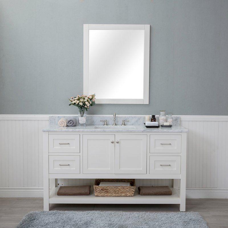 mummert 60 single bathroom vanity set