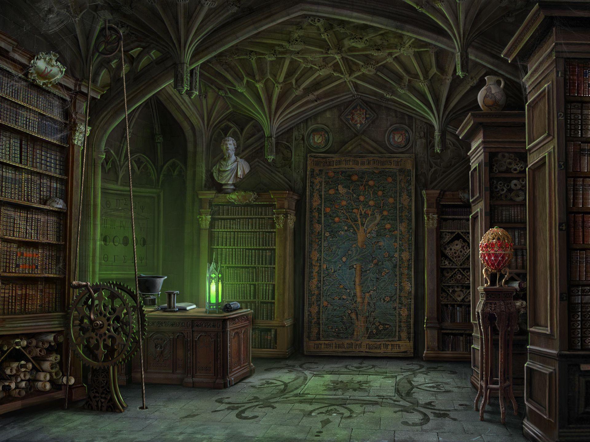 касается картинки таинственных комнат фактор чем