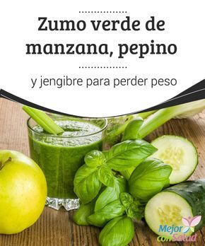 pepino con jengibre para perder peso
