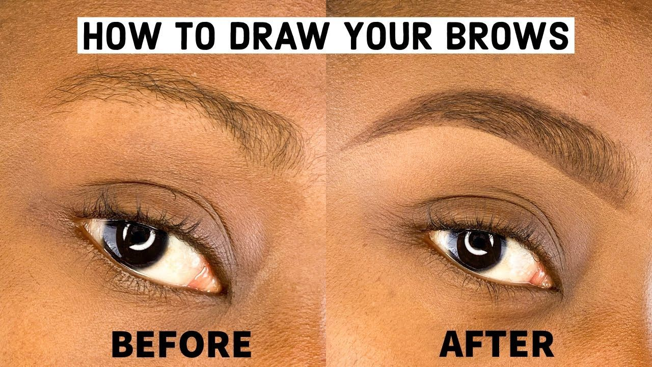HOW TO: EASY EYEBROW TUTORIAL FOR BEGINNERS WITH PENCIL ...
