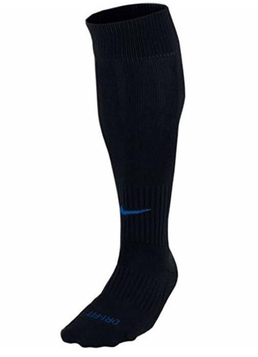 Details about Nike Dri Fit Classic Soccer Socks Blue White