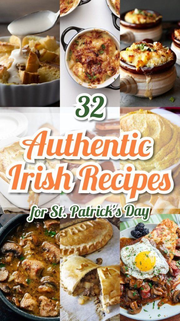 20 Authentic Easy Irish Recipes For St Patrick S Day Easy Irish Recipes Irish Recipes Pub