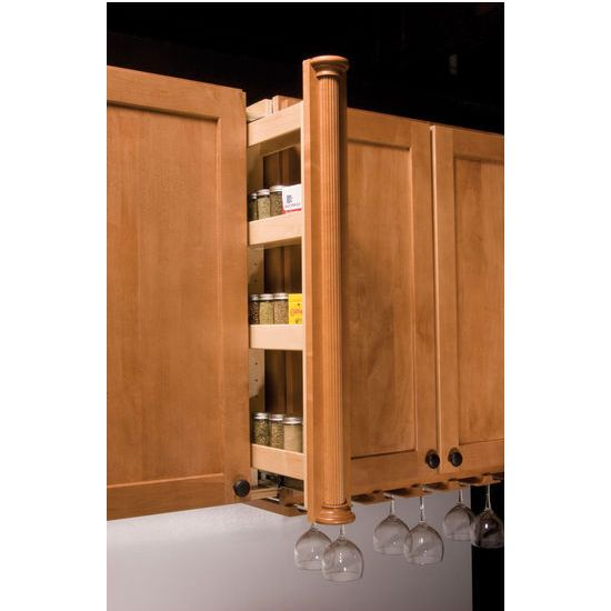 Install These Unique Kitchenmate Wall Pantry Fillers By Omega National To Add Extra Storage Space To Your Hom With Images Pantry Wall Ikea Wall Cabinets Spice Rack Storage
