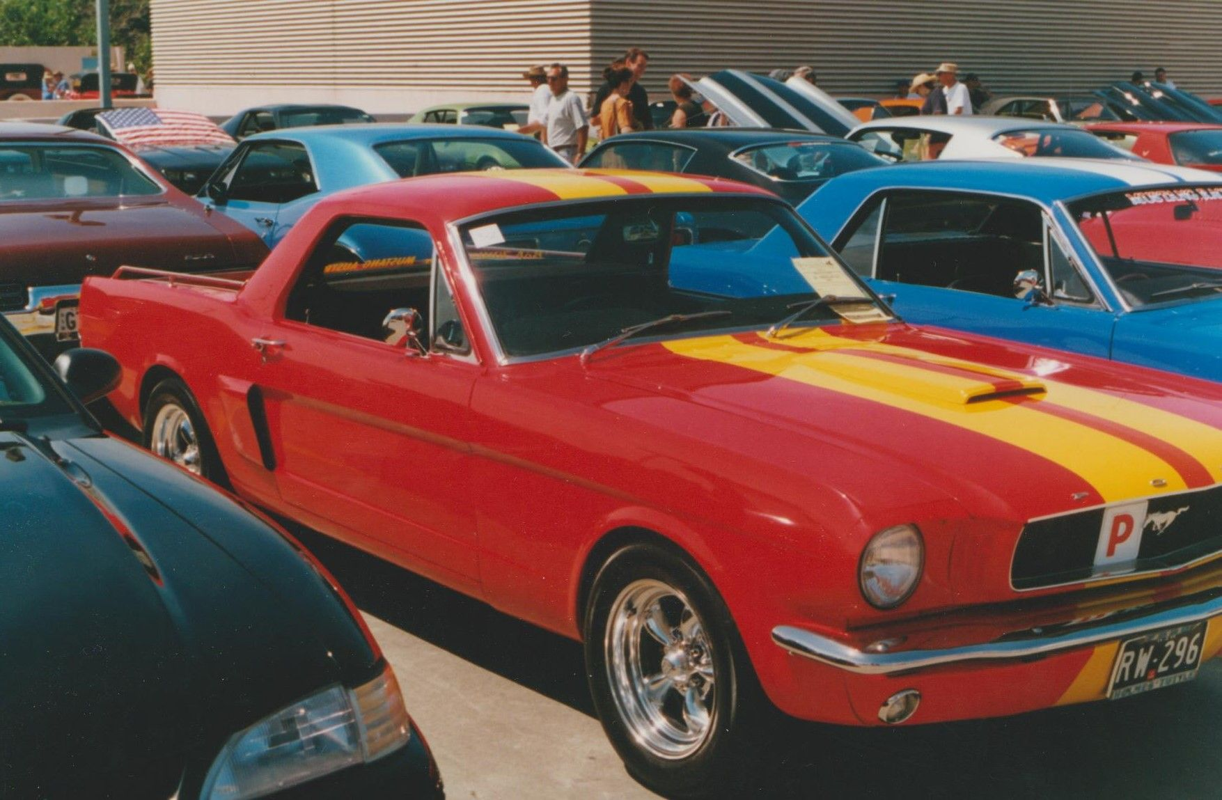 1960s Australian Converted Mustang Ute Mustang Ford Mustang