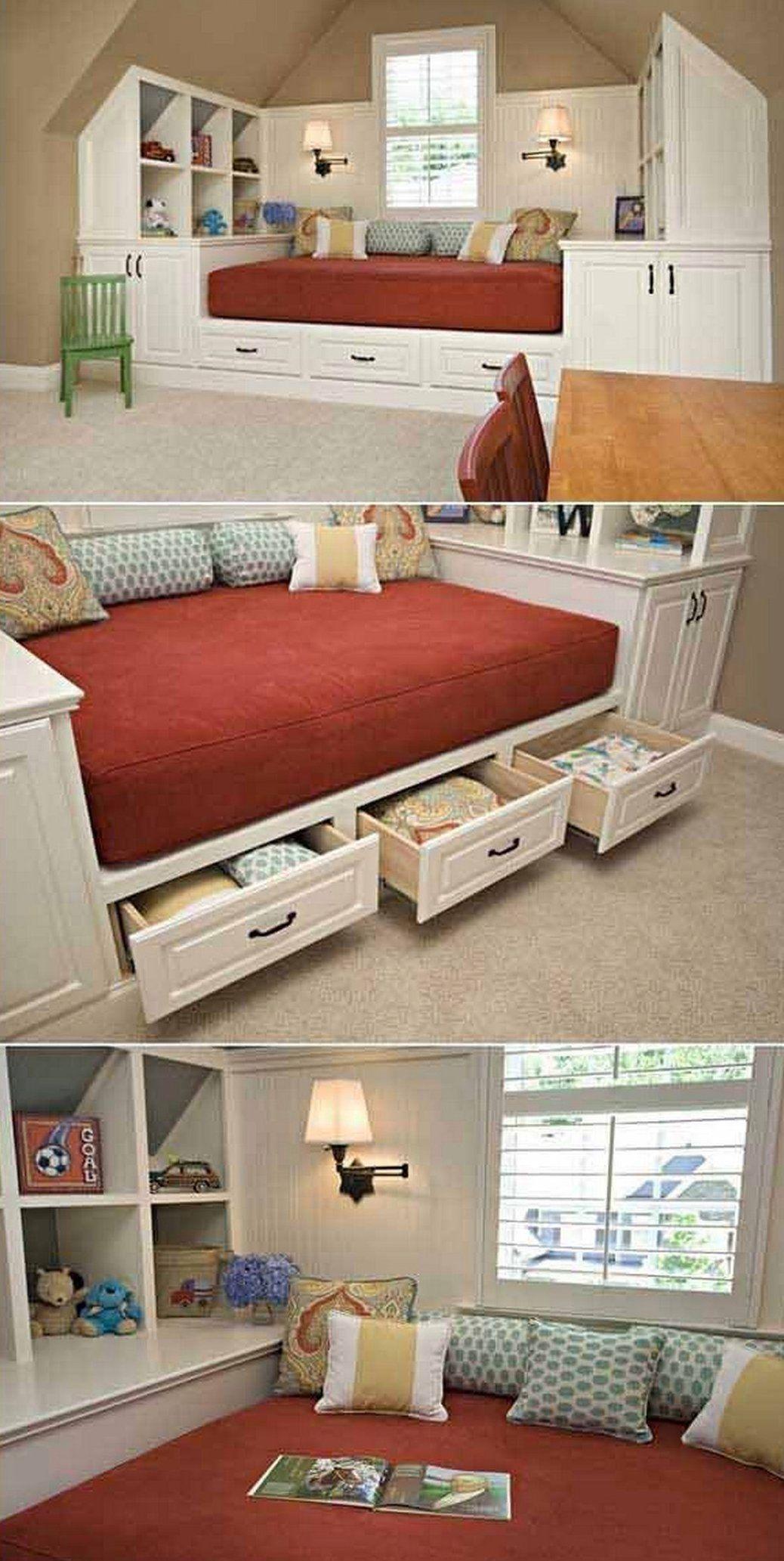 17 Stunning Diy Bedroom Storage Ideas 24988 Bedroom Storage Bedroomstorage The Bedroom Is One O In 2020 Small Room Diy Small Space Storage Bedroom Bedroom Storage
