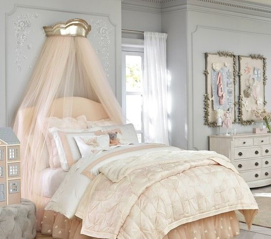 Monique Lhuillier Ethereal Lace Quilt Girl Room Girls